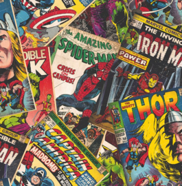 Noordwand Kids@Home Inidvidual behang Marvel Cover Story 106378
