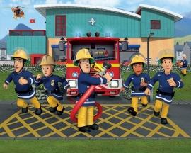 Walltastic 3D Brandweerman Sam