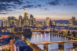 Papermoon Fotobehang Frankfurt am Main 97056