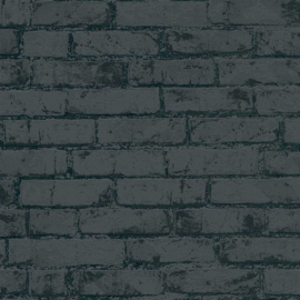 Living Walls Metropolis Change is Good behang Baksteen 9078-82