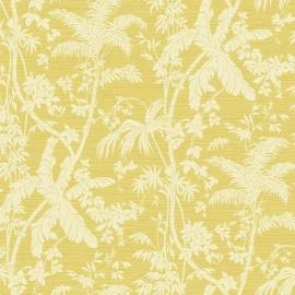 York Wallcoverings Ashford Tropics behang AT7109 Palm Shadow