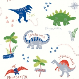 Arthouse Imagine Fun Dino Doodles behang 667500