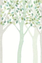 Eijffinger Wallpower Junior 364129 Green Leaf Tree