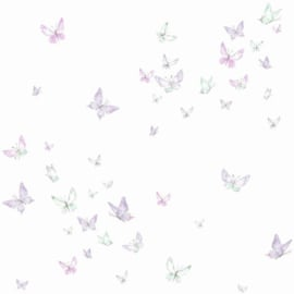 York Wallcoverings A Perfect World behang KI 0525 Watercolor Butterflies