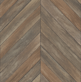 Dutch Restored Parisian Parquet behang 24006