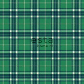 Esta Home Denim & Co. checks green 137728