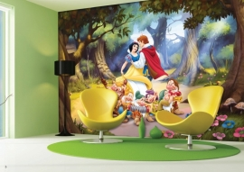 AG Design Fotobehang Disney Snow White FTD0252