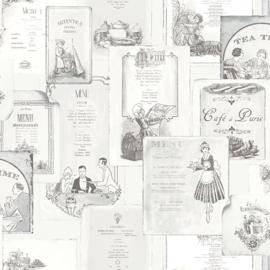 Noordwand Kitchen Recipes behang G12286