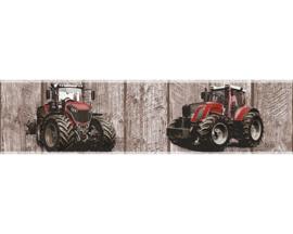 AS Creation Little Stars Tractor behangrand 35843-2