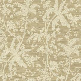 York Wallcoverings Ashford Tropics behang AT7108 Palm Shadow