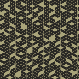 Hookedonwalls Tinted Tiles behang Flake 29025