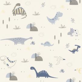 Rasch Bambino XVIII behang Dinosaurus 249347