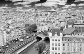 Dutch DigiWalls City Love Fotobehang Paris CL09B