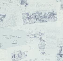 BN Van Gogh behang 17203 Letters