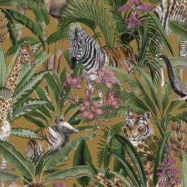 Dutch First Class Amazonia behang Serengeti Ochre 91313