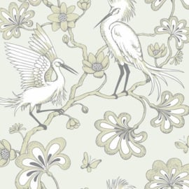 York Wallcoverings Florence Broadhurst behang Egrets FB1448
