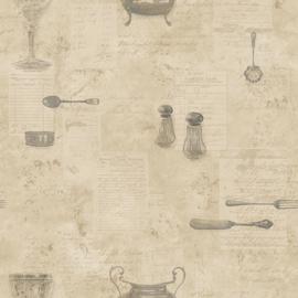 Noordwand Kitchen Recipes behang G12292