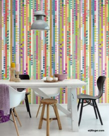Eijffinger Stripes+ Wallpower 377213 Chopsticks Colour