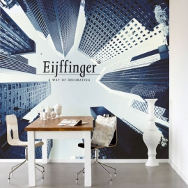 Eijffinger Wallpower Wanted Skyline 301614