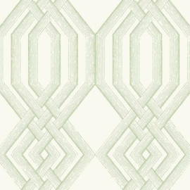 York Wallcoverings Handpainted Traditionals behang Etched Lattice TL1913