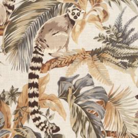 Hookedonwalls Lemuria behang Lemuri 60600
