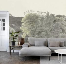 Esta Home Blush PhotowallXL Landscape Drawing 158892
