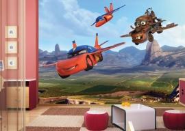 AG Design Fotobehang Disney Cars Flying FTD2206