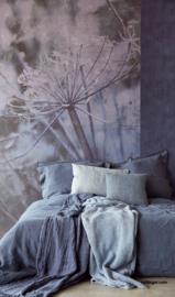 Eijffinger Lino Wallpower 379106 Acanthus Blue