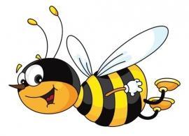 Dutch DigiWalls Olly Fotobehang 13028 Bill the Bee