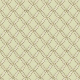 Dutch Fabric Touch behang Circle Geometric FT221225