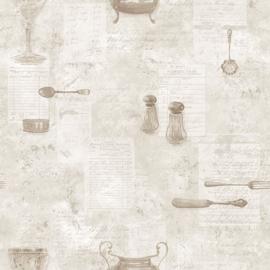 Noordwand Kitchen Recipes behang G12291