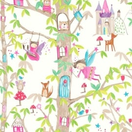 Arthouse Imagine Fun Woodland Fairies behang 667001
