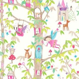 Arthouse Imagine Fun Woodland Fairies behang 667001