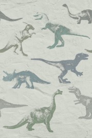 Eijffinger Wallpower Junior 364154 Dino Fossils Grey