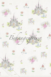 Behangexpresse COLORchoc Wallprint Pink Alice INK 6094