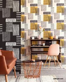 Eijffinger Stripes+ behang 377130