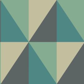 Cole & Son Geometric II behang Apex Grand 105/10045