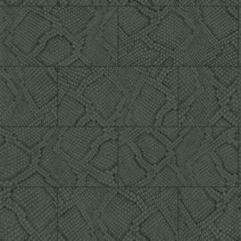 Origin Luxury Skins behang Tegels met Slangenprint 347789