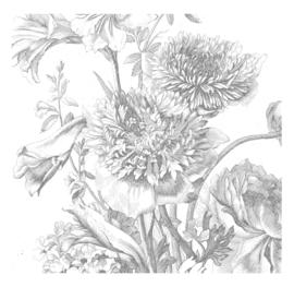 KEK Amsterdam Wonderwalls behang Engraved Flowers IV WP-334