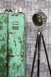 Esta Home Vintage Rules! behang 138225