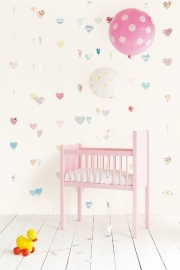 Eijffinger Tout Petit Wallpower 354162 Lots of Love