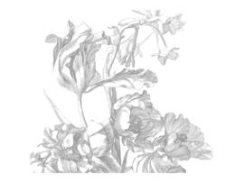 KEK Amsterdam Wonderwalls behang Engraved Flowers I WP-335