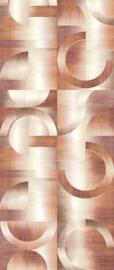 Khrôma Prisma behangpaneel Leonardo Rust DGPRI1022