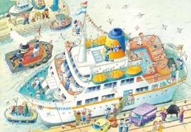 XXL Wallpaper Boat 0351-0