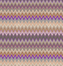 Hookedonwalls Missoni Home Zig Zag multicolore behang 10062