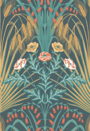 Cole & Son Botanical behang Bluebell 115/3010