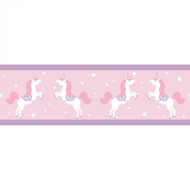 Caselio Girl Power behangrand Princess Unicorns GPR 100905010