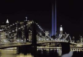 Papermoon Fotobehang New York at Night 97265