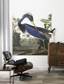 KEK Amsterdam Flora & Fauna behangpaneel Blue Crane PA-011