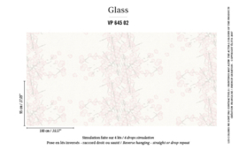 Élitis Glass behang Narco Flowers VP 64502